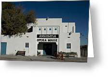 Amargosa Opera House Death Valley Img 0021 Greeting Card