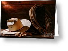 Amarillo By Morning Greeting Card