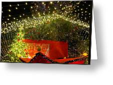Amazing Christmas Lights Greeting Card