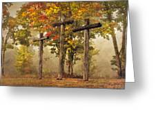 Amazing Grace Greeting Card by Debra and Dave Vanderlaan