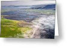 Amazing Iceland Landscape Greeting Card