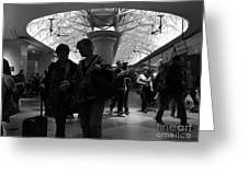 Amazing Penn Station - Otherworldly View Greeting Card