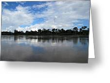 Amazon Reflections Greeting Card