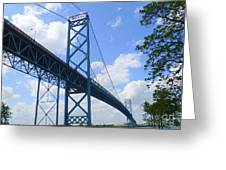 Ambassador Bridge Greeting Card