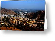 Amber Palace - Jaipur- Rajasthan- Viator's Agonism Greeting Card by Vijinder Singh