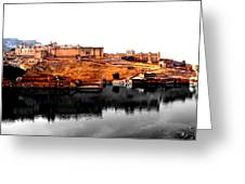 Amber Palace - Jaipur- Viator's Agonism Greeting Card