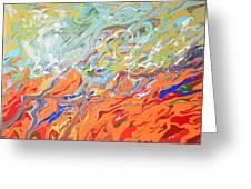 Amber Waves Greeting Card