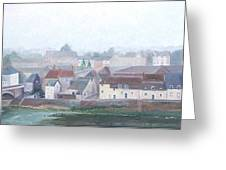Amboise And The Loire River France Greeting Card