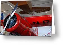 Amelia Earhart Prop Plane Greeting Card