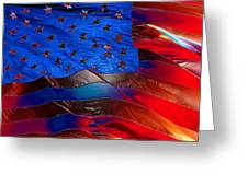 America Rising Greeting Card