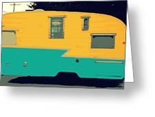 American Camper Series No.4 Greeting Card
