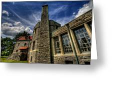 American Castle Greeting Card