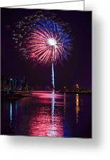 American Celebration Greeting Card by Bill Pevlor