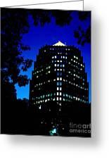 American Century Tower 1 Greeting Card