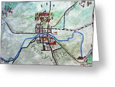 American Civil War Town - Perryville Ky Greeting Card