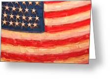 American Colours Greeting Card