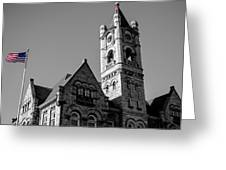 American Courthouse Greeting Card