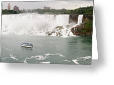 American Falls Greeting Card
