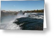 American Falls From Luna Island Greeting Card