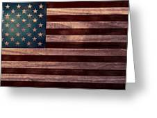 American Flag I Greeting Card