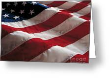 American Flag Greeting Card by Jon Neidert