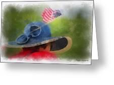 American Flag Photo Art 05 Greeting Card