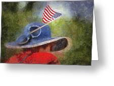 American Flag Photo Art 06 Greeting Card