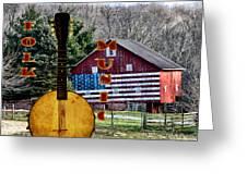 American Folk Music Greeting Card