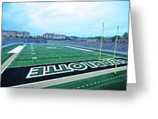 American Football Stadium Greeting Card