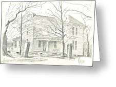 American Home II Greeting Card
