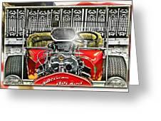 American Hot Rod Greeting Card