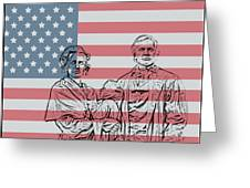 American Patriots Greeting Card