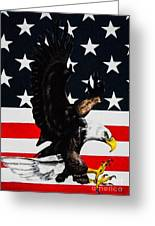 American Pride Greeting Card