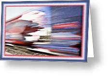 American Rail Greeting Card