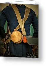 American Revolutionary Soldier Greeting Card