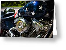 American Ride Greeting Card