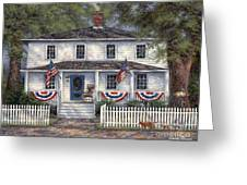American Roots Greeting Card