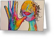 American Sign Language . . .  Mother Greeting Card