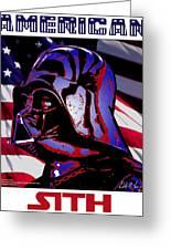 American Sith Greeting Card