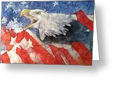 American Strength Greeting Card