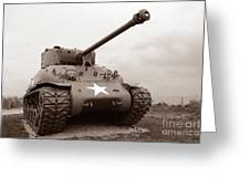 American Tank Greeting Card