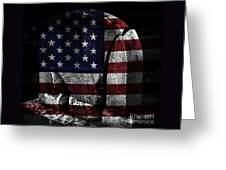 American Tombstone Greeting Card