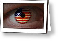 American View Greeting Card