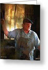 American Workingman Greeting Card