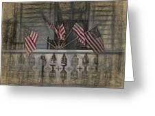 Americana Greeting Card