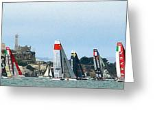 America's Cup World Series Greeting Card