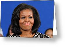 America's First Lady Greeting Card
