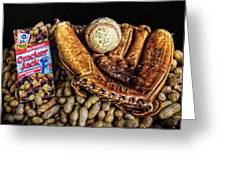 America's Pastime Greeting Card by Ken Smith
