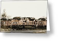 America's Railway Greeting Card