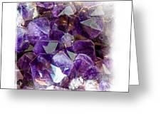 Amethyst Crystals 1. Elegant Knickknacks Greeting Card